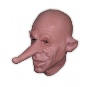 Mask Man Long Nose Foam Latex