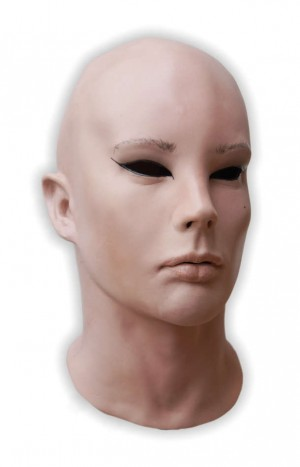 Realistic Latex Mask Crossdresser 'Lolita'