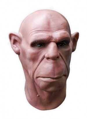 Realistic Latex Mask Human Face Ape