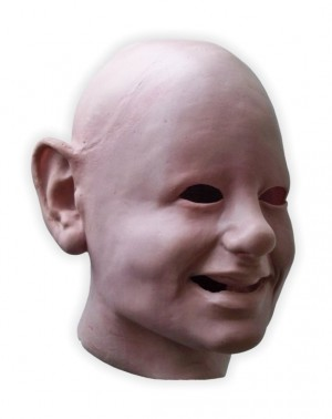 Scary Babyface Latex Mask