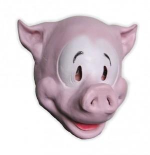 Soft Latex Mask Comic Pig