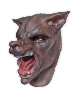 Wolf Mask Soft Latex